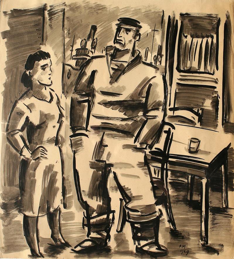 1929_Pêcheur et sa femme