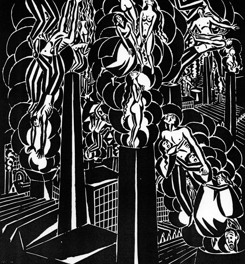 Aa 19, 1920, Les fumées