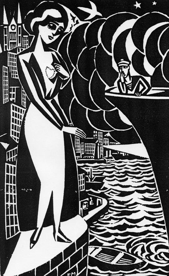 Aa 25, 1921, Matrosen-Abschied