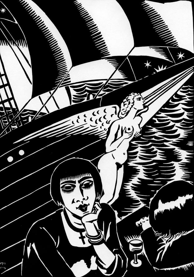 Aa 48, 1924, Le vaisseau fantóme