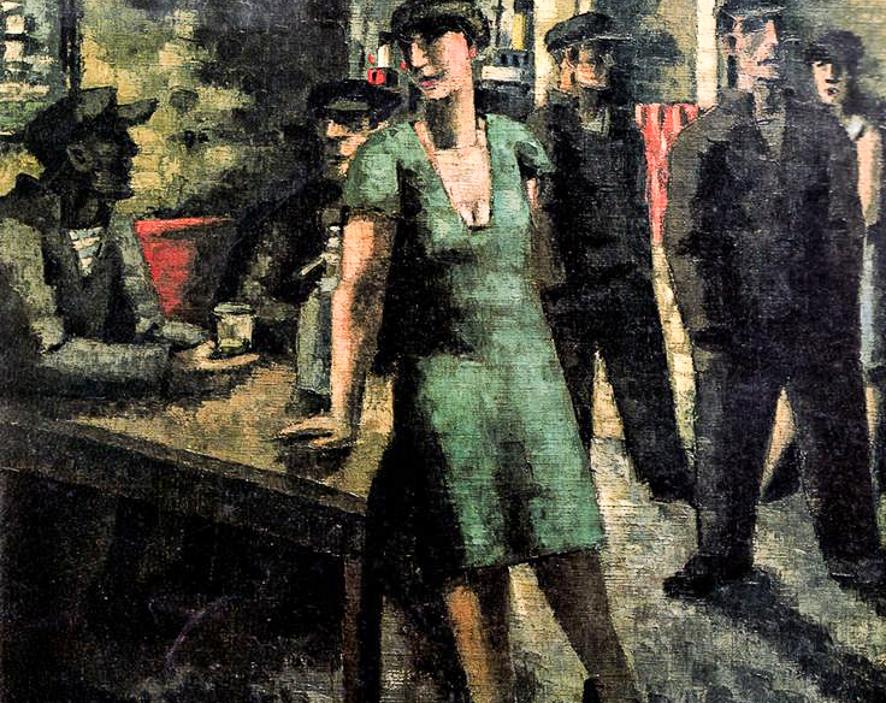 1927_Estaminet a la femme vert