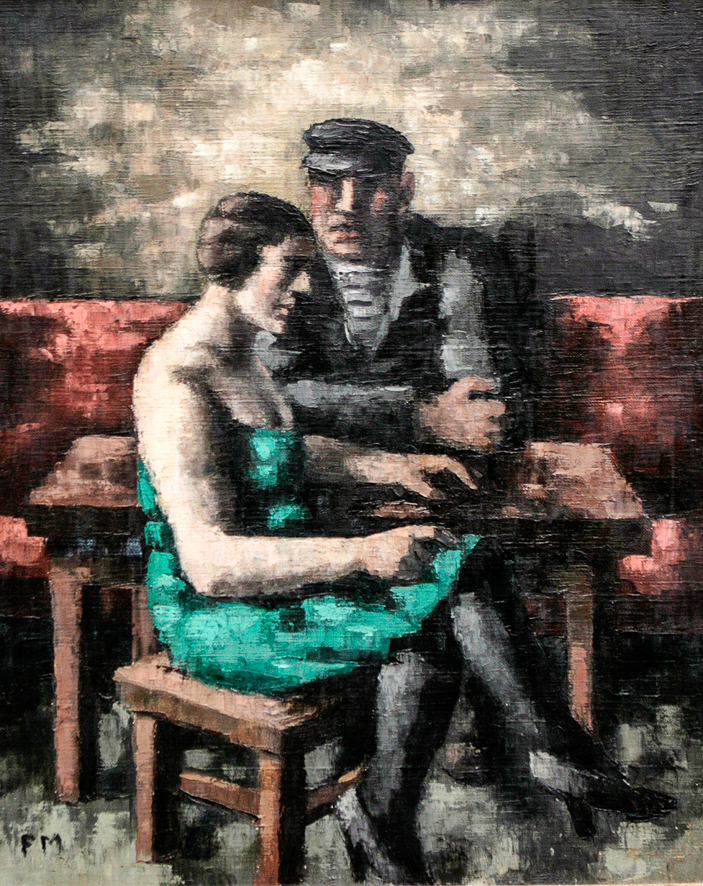 1928_Marin et femme