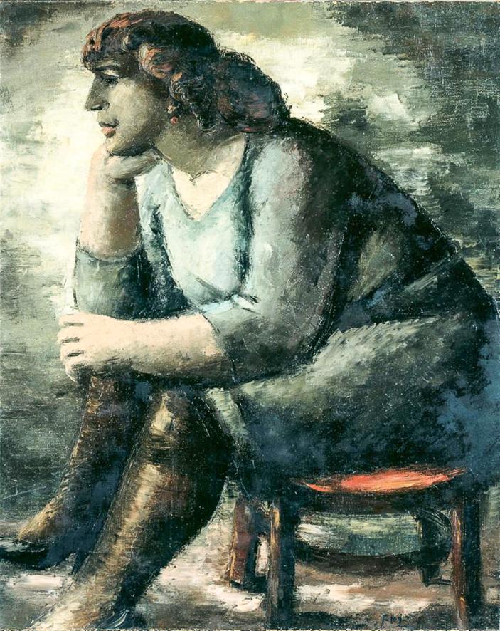 1931_Femme assise