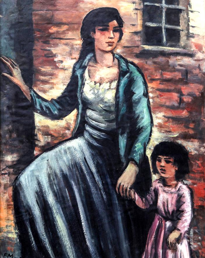 1941_Gitane et son enfant