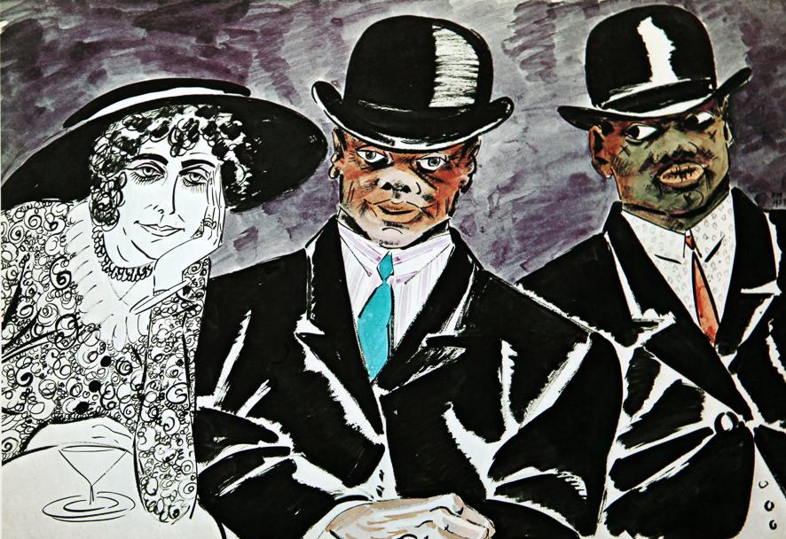 1923_Les deux negres