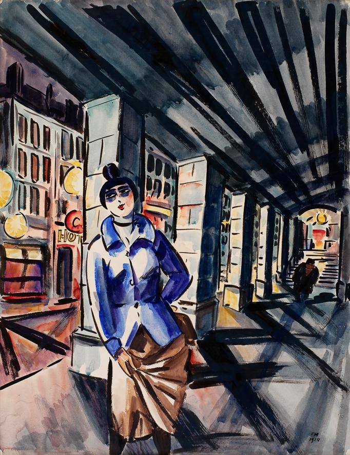 1924_Sous le metro