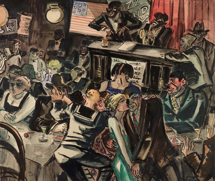 1925_Le jockey ou Dancing_Vorms 52