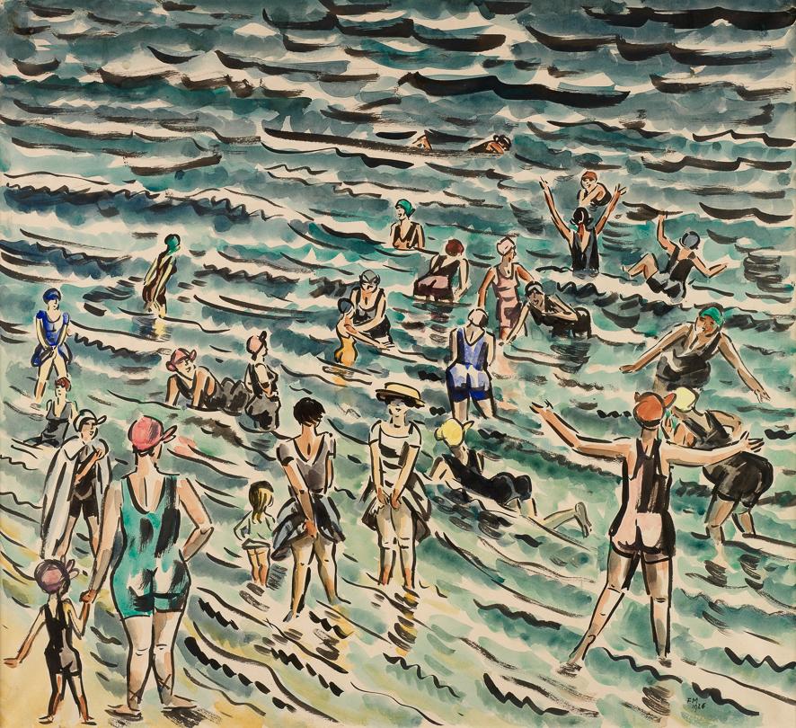1926_Les baigneuses
